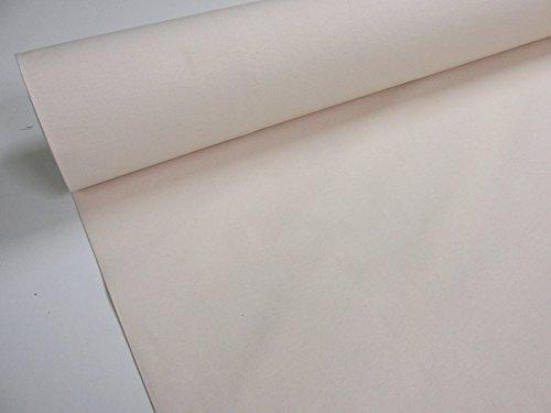 Confección Saymi - Metraje 0,50 MTS. Tejido loneta Lisa Nº 102 Crudo con Ancho 2,80 MTS.