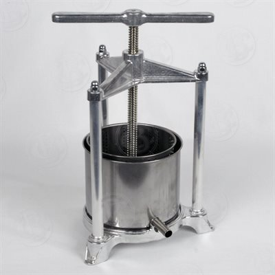 Fruit Press - Italian, 3 Liter, Stainless Steel by Brewcraft