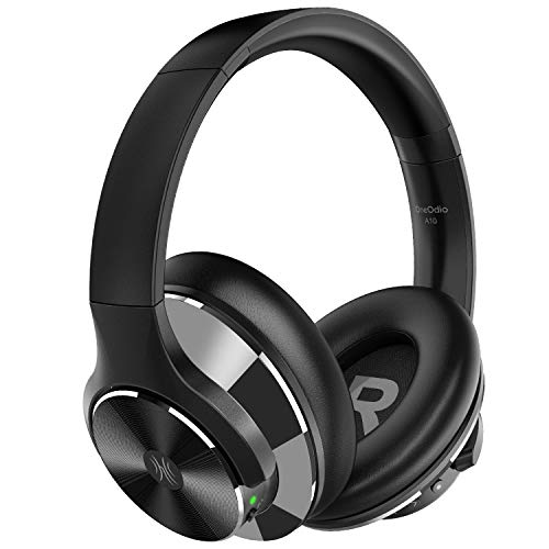 OneOdio Bluetooth Headphones Active Noise Cancelling...