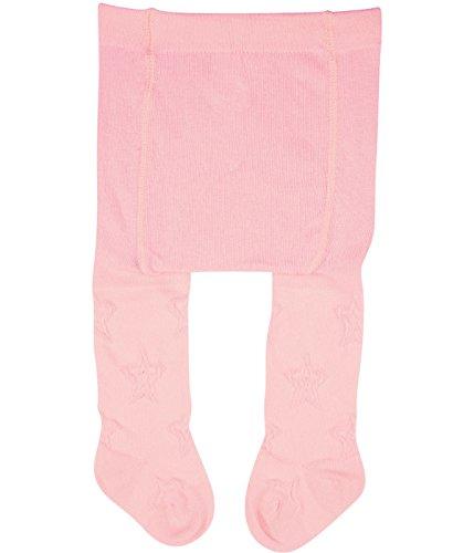 Vitasox Vitasox 26021 Mädchen Erstlingsstrumpfhose Strumpfhose für Neugeborene einfarbig 2xrosé 50/56