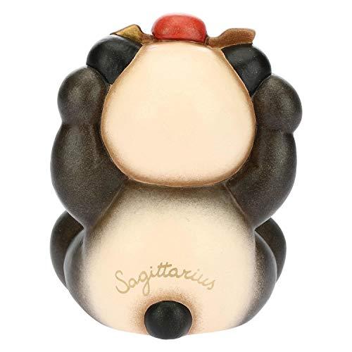 THUN - Panda Sagittarius - Linea Oroscopo - Formato Piccolo - Ceramica - 6,7x6x7,7 h cm