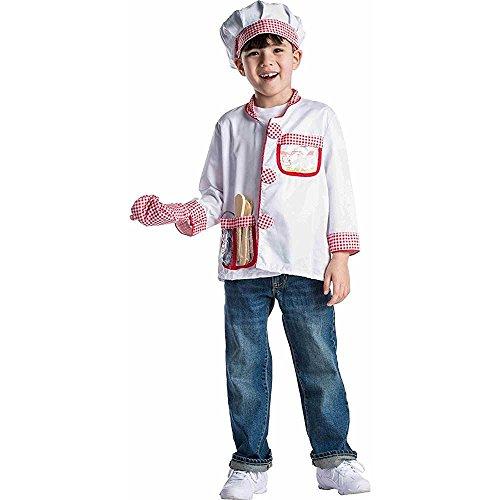 Dress up America Juego de rol de Cocinero para niños con Edades comprendidas Entre 3 y 7 años