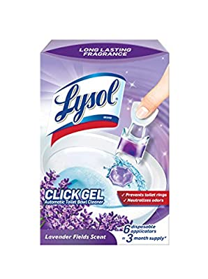 Lysol Automatic Toilet Bowl Cleaner, Lavender, 6 Count