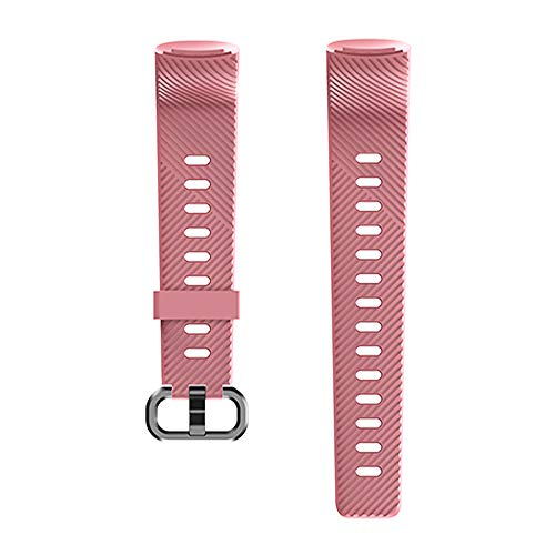 KUNGIX Uhrenarmband für 152 Fitness Armband, Silikon Sportband Ersatzband Uhrenband für Frauen Männer mit Vier Farben (Pink)