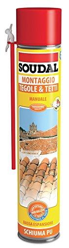 SOUDAL SCHIUMA TEGOLE/TETTI MANUALE ML.750