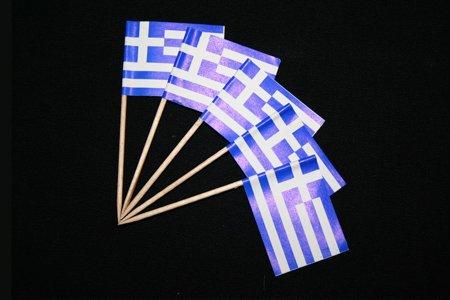 Everflag Zahnstocher : Griechenland 50er Packung