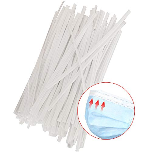 Plastic White Color Twist Ties, Straps Twist Tie/Cable Ties/Cable Tie/Nose Wire for Sewing Crafts DIY Organizer Cable Wire