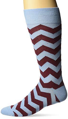 Original Penguin Herren Stripe Crew Socks Anzugsocken, hellblau, Einheitsgröße