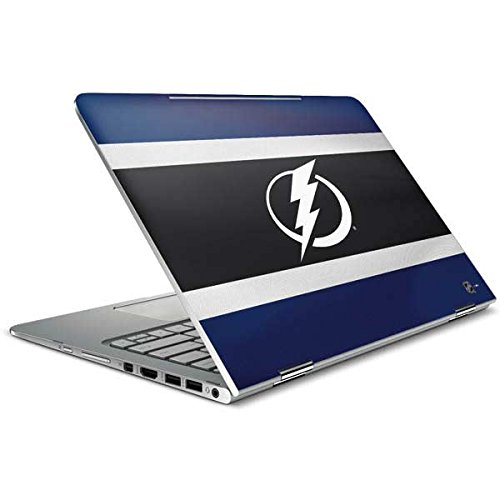 Skinit Decal Laptop Skin for Spectre x360 15.6in (2-in-1) - Officially Licensed NHL Tampa Bay Lightning Alternate Jersey Design