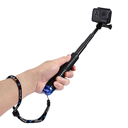 Willowhe Cámara Selfie Stick con correa Cámara Action Accessories para GoPro HERO5...