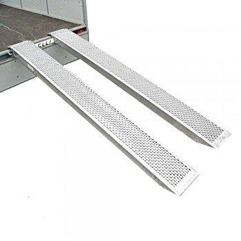Set ALU Verladeschienen / Auffahrschienen 2500 x 260mm 1000kg/Paar