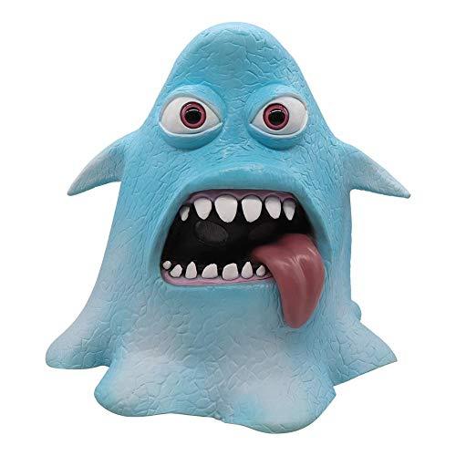 Youngfate Halloween-Gesichtsmaske, Horror-Maske, Halloween-Maske, lustiges Krakenkostüm, Cosplay-Zubehör für Festivals, im Freien, Spo
