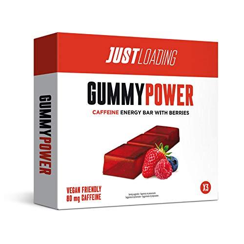 Just Loading - Barritas Energéticas de Gominola y Cafeína Gummypower 3 unidades