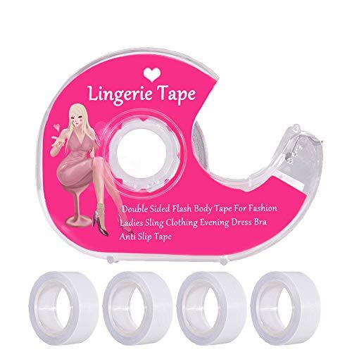 Fashion Body Tape Double Sided Clothing Tape for Skin lingerie Dress Bra 82 Feet