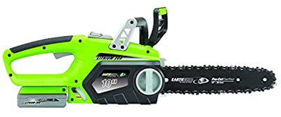 Earthwise 10-Inch 20-Volt Lithium Ion Cordless Electric Chain Saw