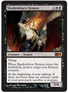 Magic: the Gathering - Shadowborn Demon - Magic 2014