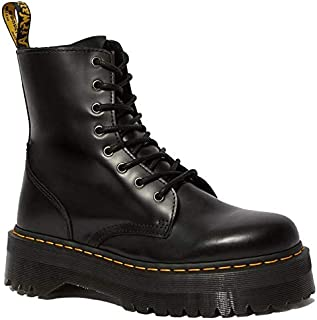 Jadon 8-Eye Leather Platform Boot for Men and Women