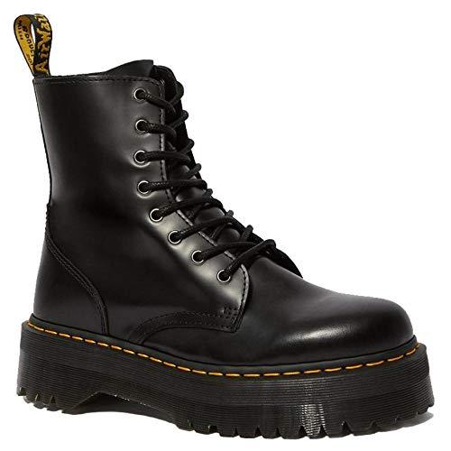 Dr. Martens Women's Jadon Boot,Black Polished Smooth,5 UK/7 M US
