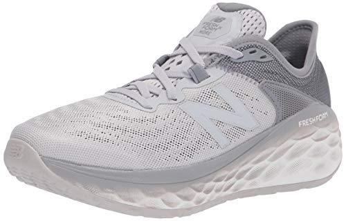 New Balance Men#039s Fresh Foam More V2 Running Shoe Light Aluminum/Steel 10
