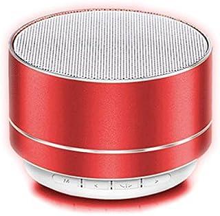 Mic incorporato for la casa Bluetooth altoparlante senza fili con bassi profondi e suono stereo Altoparlanti portatili Bluetooth TF di sostegno 6 ore di autonomia TWS CttiuliLyyx cassa bluetooth