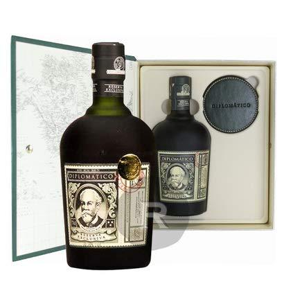 Diplomatico Diplomático Reserva Exclusiva Ron Antiguo 40% Vol. 0,7L In Giftbox With Untersetzern - 700 ml