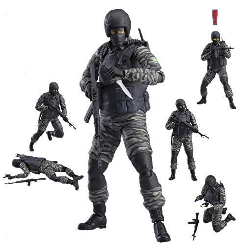 Jaypar Metal Gear Solid Figura El Movable Figura Figura de acción de Soldado