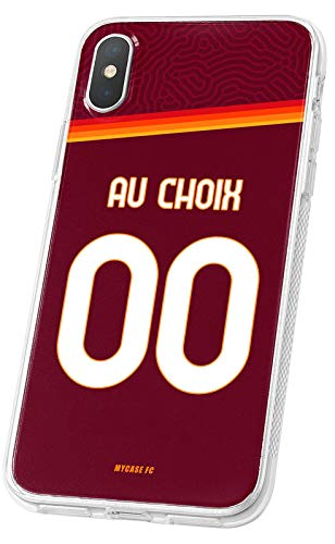 MYCASEFC - Cover da calcio personalizzabile AS Roma IPhone 6 Plus in silicone