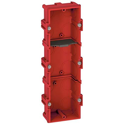 Legrand, 080143, Batibox Wallbox 3-F T = 40MM