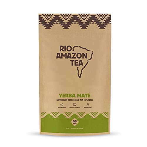 Rio Amazon Yerba Mate teabags - 90 Teabags (PACK OF 1)