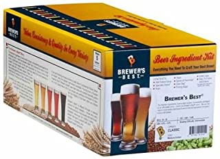 Brewer'sBest® 1013 American Pale ale Package (Classic) Home Brew Ingredient Kit, 5 gallon, Amber