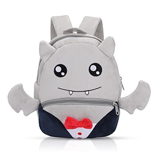 Nette Kleine Kleinkind Kinder Rucksack Plüsch Tier Cartoon Mini Kinder Tasche für Baby Mädchen Junge Alter 1-3 Jahre - Fledermaus