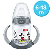 NUK 10215269 Disney Mickey Mouse First Choice Biberón, sin BPA, a partir de...