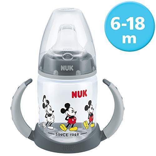 NUK Biberon d'Apprentissage Disney 150ml 618M Noir Repas Nutrition Modèle/Couleur Aléatoire