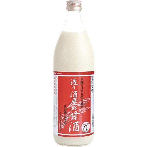 遠藤酒造 造り酒屋の甘酒 900ml