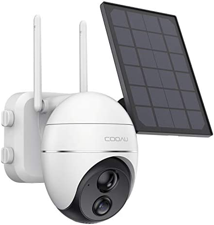 Security Camera Outdoor Wireless WiFi 360 Pan Tilt Zoom Solar 15000mah Battery Powered Home product image