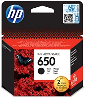 HP 650 Black Original Ink Advantage Cartridge - CZ101AK