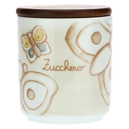 THUN -Barattolo Porta Zucchero in Porcellana Elegance