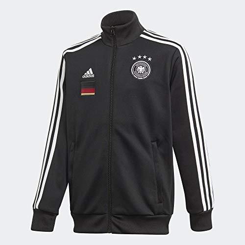 adidas Kinder DFB 3S Top Trainingsjacke, Black, 128