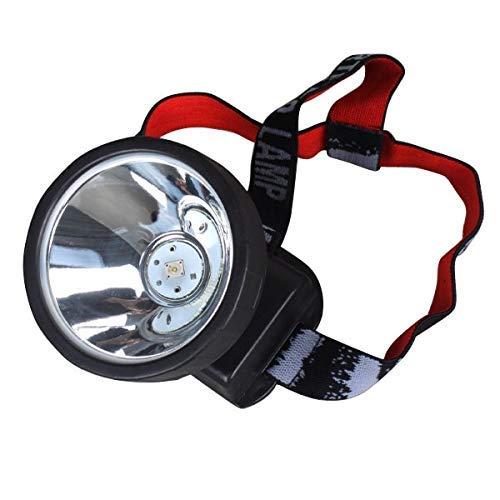 BGH Faro LED 5W 15000 Portable LED Minero Faro Faro de Faro con Cargador Seguridad Minero Faro Linterna Lámpara de antorcha Luz de la lámpara