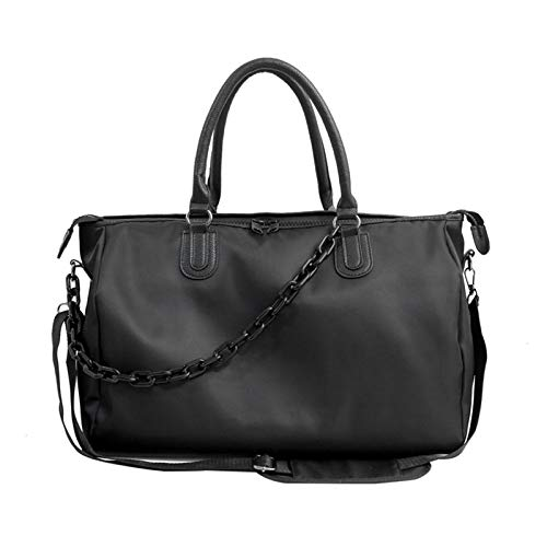 ZHANJIN Large-Capacity Nylon Handbags, Fashionable Business Travel Bags, Lightweight Men And Women Casual Shoulder Bags, Sports Gym Bags,small