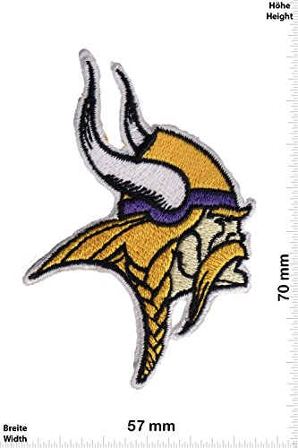 Parches - Minnesota Vikings NFL - Small - Deportes de Motor - Deportes - Deportes USA - Parche Termoadhesivos Bordado Apliques - Patch