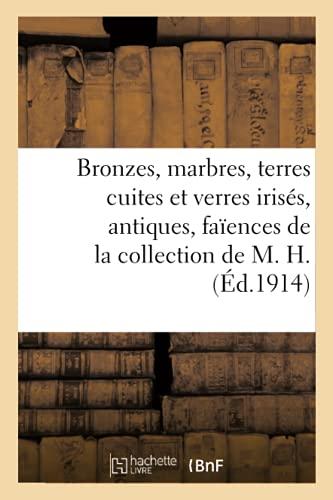 Bronzes, marbres, terres cuites et verres irisés, antiques, faïences de la collection de M. H. (Éd.1914)