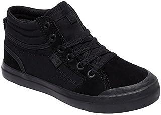 DC Boys' Youth Evan Hi Skate Shoe Black/Black/Black 12 M US Little Kid [並行輸入品]