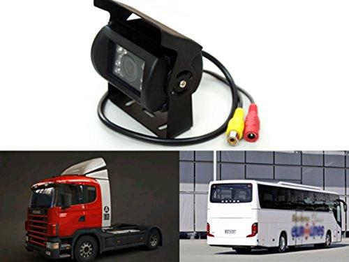 『Auto Wayfeng® 7インチモニター+ バックカメラ12V/24V兼用 バックカメラセット+一体型20Mケーブル トラック、バス、重機等対応』の2枚目の画像