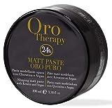 Matt Paste Oro Puro Therapy Styling 24k 100ml  Shaping Hair with Keratin & Argan
