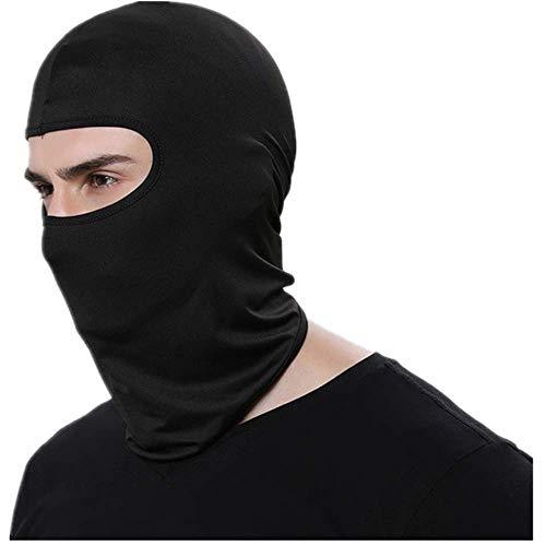 YUHUALI Balaclava Gesicht Maske Motorrad Taktische Gesicht Schild Mascara Ski Maske Volle Gesicht Maske Gangster Maske