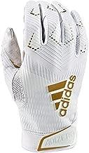 adidas Adizero 8.0 Football Receiver's Gloves White Medium