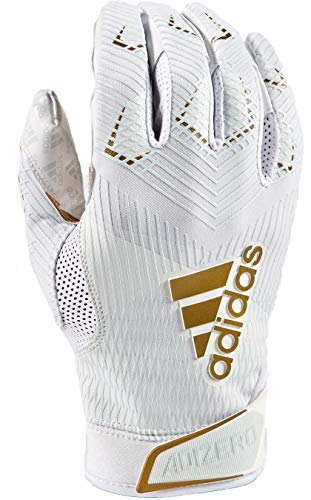 adidas Adizero 8.0 Football Receiver's Gloves White Medium