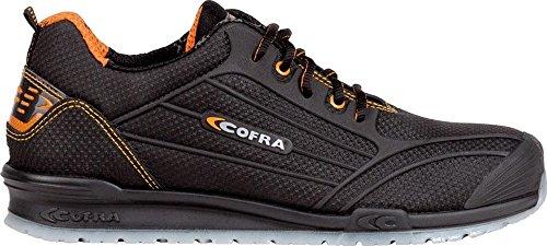 COFRA Moderner Sicherheitshalbschuh S3 SRC Cregan Aus der Beliebten Running Reihe (43, Dunkelbraun)