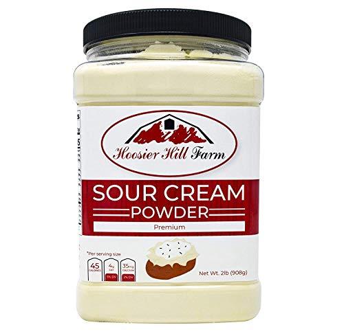 Hoosier Hill Farm Real Sour Cream Powder, Gluten & Hormone Free, 2 Lb